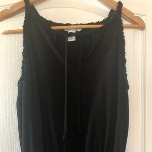 Size M White House Black Market Black Maxi Dress